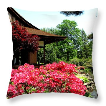 Shofusu Throw Pillow by Christopher Woods