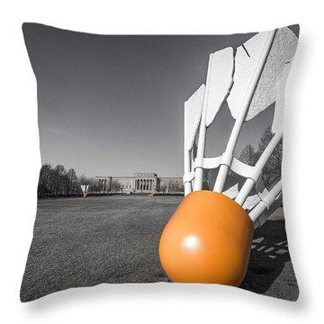 Shuttlecock Throw Pillow