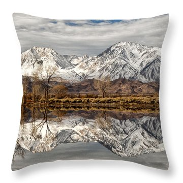 Sierra Reflections Throw Pillow