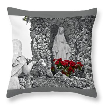 Sister Mary Throw Pillow