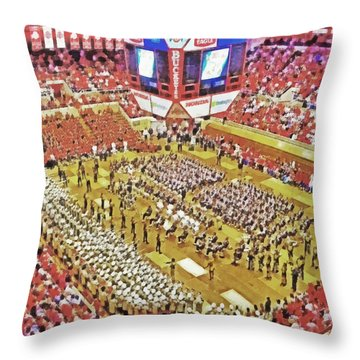 Skull Session At St. John Arena. 1 Throw Pillow