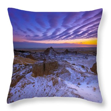 Sky Lines Throw Pillow