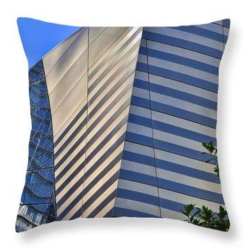 Skyscraper Abstract 4 Throw Pillow by Allen Beatty