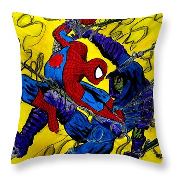 Sleepwalker 7 Throw Pillow