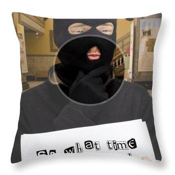 Smooth Criminal Throw Pillow