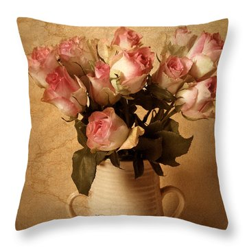 Soft Spoken Throw Pillow