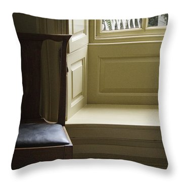 Solitude Throw Pillow by Margie Hurwich