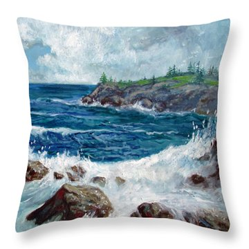 Solitude Throw Pillow by Philip Lee