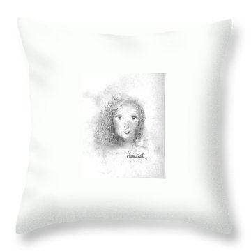 Something About Mary Throw Pillow