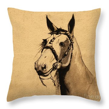 Son Of The Desert 1939 Throw Pillow