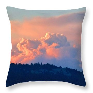 Soothing Sunset Throw Pillow by Will Borden