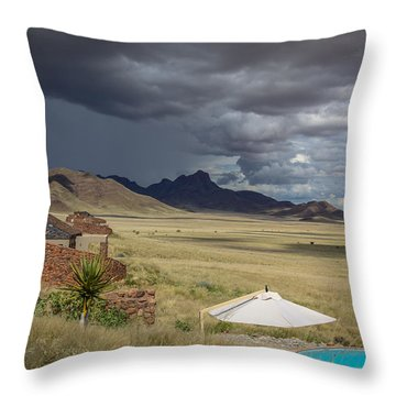 Sossusvlei Desert Lodge Throw Pillow
