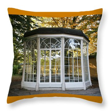 Sound Of Music Gazebo Throw Pillow