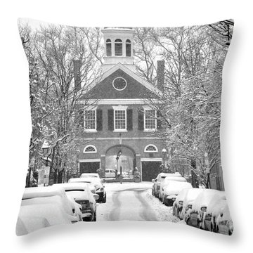South Street Headhouse  Throw Pillow