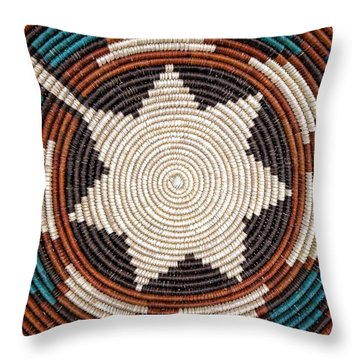 Southwestern Basket Detail Throw Pillow