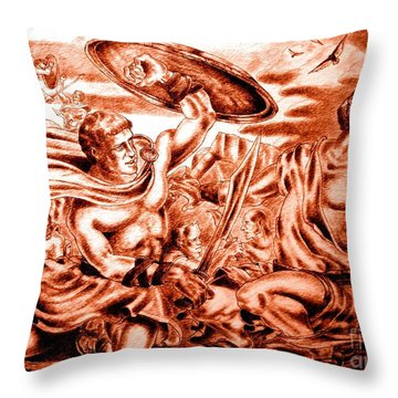 The 15 Throw Pillow
