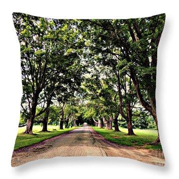 Spencer Peirce Little Farm Throw Pillow