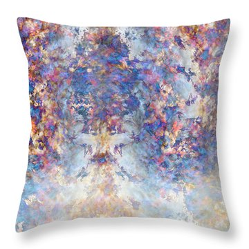 Spiritual Torrents Throw Pillow by Christopher Gaston