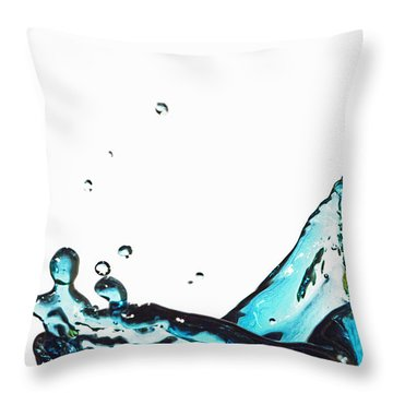 Splash 1 Throw Pillow