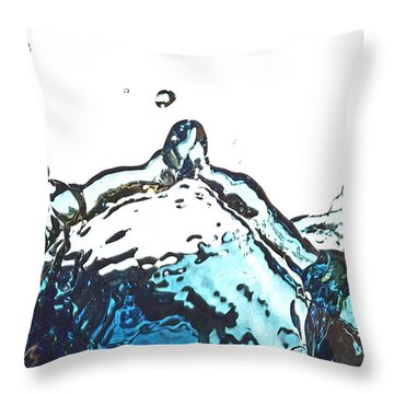 Splash 2 Throw Pillow
