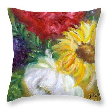 Spring Surprise Throw Pillow