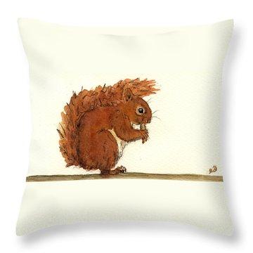 Chipmunks Throw Pillows