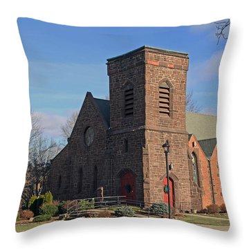 St. James Episcopal Church Throw Pillow
