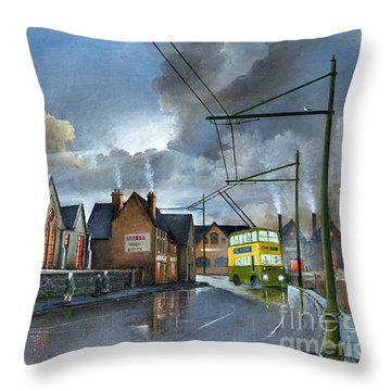 St. James School Throw Pillow