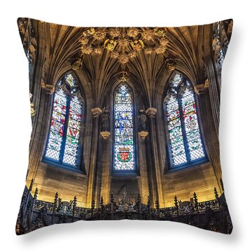 St.giles Cathedral Throw Pillow by Svetlana Sewell
