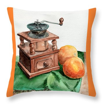 Still Life - Study Throw Pillow