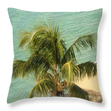 Throw Pillow featuring the digital art Storm's A Coming by Luther Fine Art