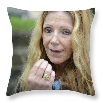 Street People - A Touch Of Humanity 1 Throw Pillow