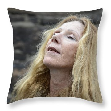 Street People - A Touch Of Humanity 2 Throw Pillow
