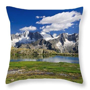 Throw Pillow featuring the photograph Strino Lake - Italy by Antonio Scarpi