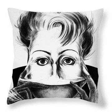 Strip Throw Pillow