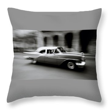 The Zen Of Havana Throw Pillow by Shaun Higson
