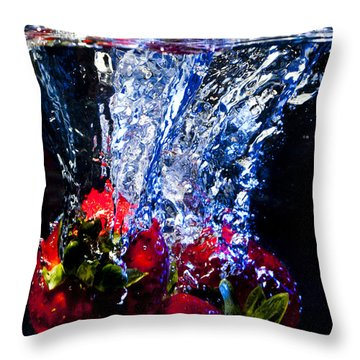 Submerged Forever Throw Pillow by Jon Glaser