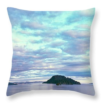 Sunrise At The Islands Of Loreto Throw Pillow