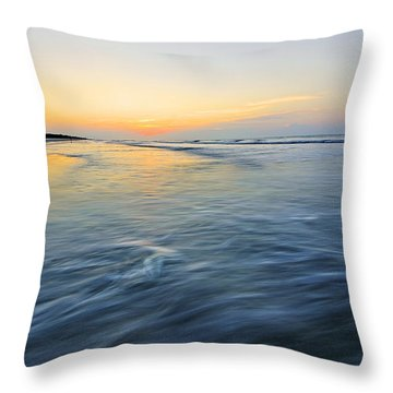 Sunrise On Hilton Head Island Throw Pillow