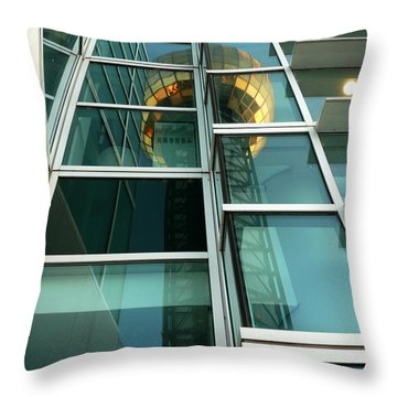 Sunsphere Reflections Throw Pillow