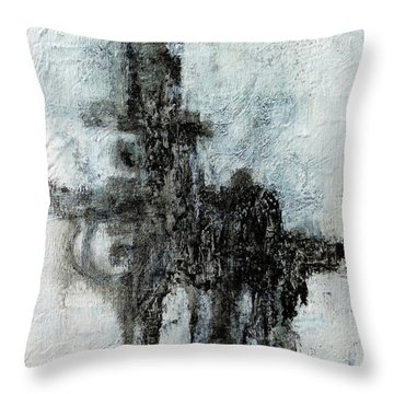 Super Structure Throw Pillow by Jim Whalen