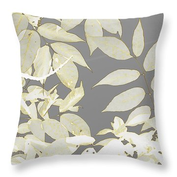Tapestry Throw Pillow by France Laliberte