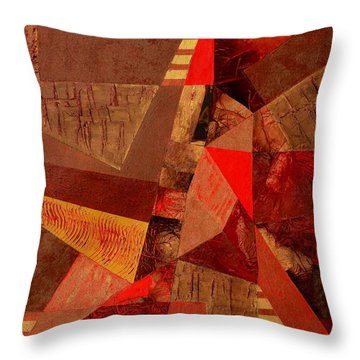 Teamwork Throw Pillow by Linda Bailey