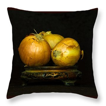 Throw Pillow featuring the photograph Tear Jerkers by Elf Evans