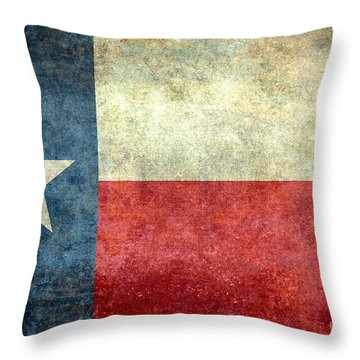 Texas The Lone Star State Throw Pillow