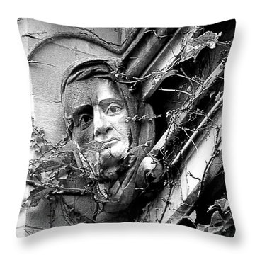 That Gargoyle University Of Chicago 2009 Throw Pillow by Joseph Duba