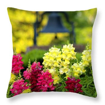 The Bell Throw Pillow
