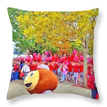 The Best Damn Band In The Land Arrives Throw Pillow