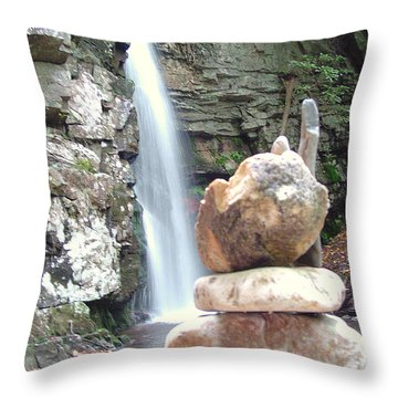 The Cairn Throw Pillow
