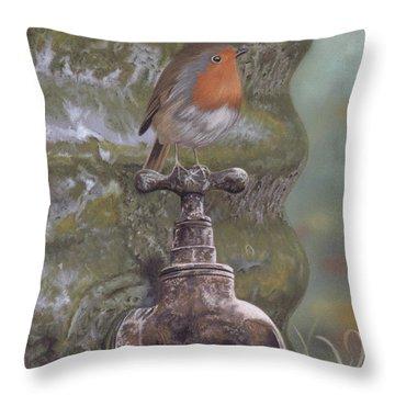 The Constant Gardener Throw Pillow